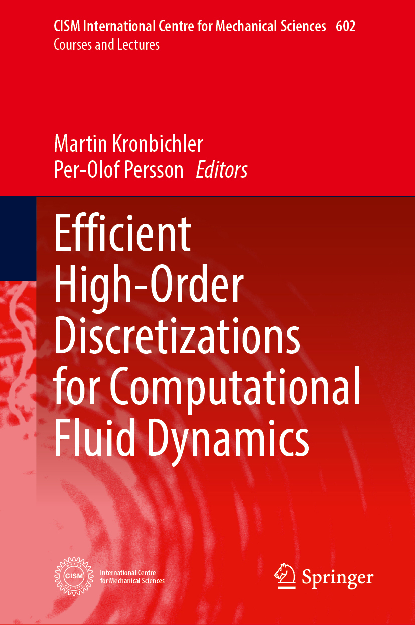 Efficient High-Order Discretizations for Computational Fluid Dynamics